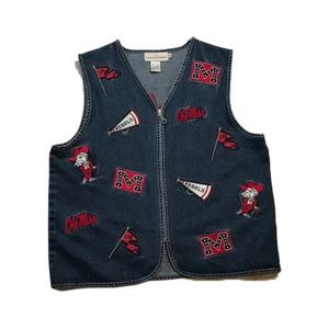 Ole Miss Rebels Castle Sports Vest Large